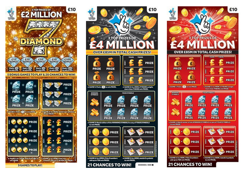 Scrapped Scratch Cards